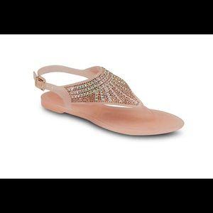 Pink sandal great for summer time😊